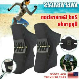 2nd Generation Joint Support Knee Pads Non-slip Power Lift R