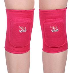 QCHOMEE 1 Pair Kids Knee Pads Supporting Meniscus Breathable