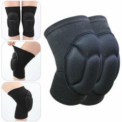 1 Pair Knee Pads Brace Sponge Foam Kneelet Protector Sport B