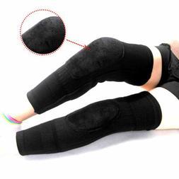 1 pair men women warm knee pads