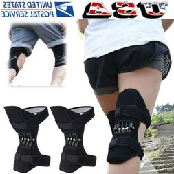 1 Pair Power Lift Knee Joint Support Knee Pads Stabilizer Re