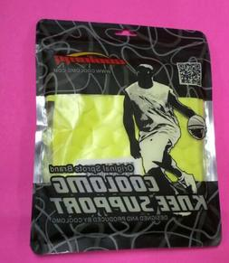 COOLOMG 1 PC KNEE PAD FLUORESCENT GREEN L