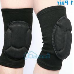1Pair Knee Pads Kneelet Construction Work Safety Brace Leg P