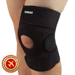 1pc Elastic Knee Support Brace Knee Pads Guard Strap Adjusta