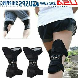 1Pc Power Knee Joint Support Pad Breathable Nonslip Lift Sup