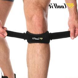 CoolFit 1PCS Adjustable Patella Brace Strap EVA Kneepads <fo