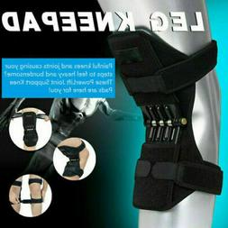 1PCS Power Knee Stabilizer Pads Powerful Rebound Spring Forc