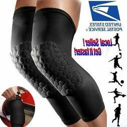 2 pcs Basketball Knee Pads Sport Leg Sleeves Protector Gear