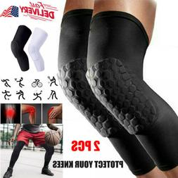 2 pcs sports knee pads leg sleeves