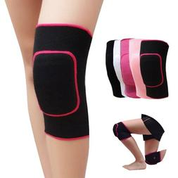 2 Pcs Women Girls Dance Volleyball Tennis Knee Pads Support
