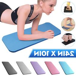 24''X10'' Yoga Knee Mat Non Slip Workout Pilates Fitness Exe