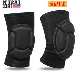 1Pair Knee Pads Kneelet Construction Work Safety Brace Leg P