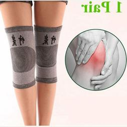 2Pcs Knee Pads Protector Knee Brace Support Dance Sport Yoga