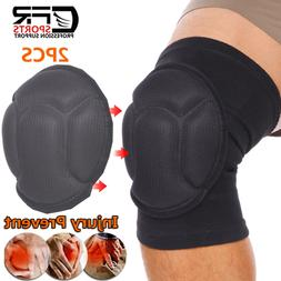 2pcs Knee Pads Support Brace Leg Protectors Sports Flooring