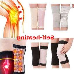 2pcs Magnetic Self-Heating Knee Pads Support Brace Tourmalin