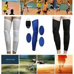 2Pcs volleyball Football Knee Pads Kneepad Brace Support Leg