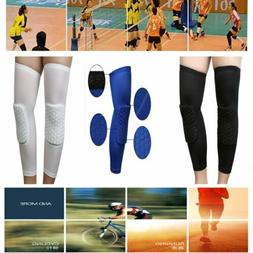 2Pcs volleyball Football Knee Pads Kneepad Brace Support Leg