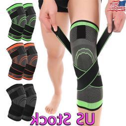 3D Knee Brace Support Breathable for Running Jogging Sport S