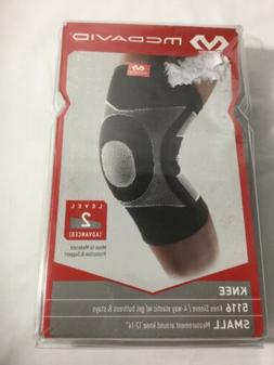 McDavid 4 Way Elastic Knee Sleeve with Gel Buttress and Stay