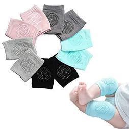 5 Pairs NEW Baby Crawling Knee Pads Safety Anti-slip Walking