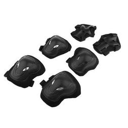 6 Pcs Adult Roller Skating  Knee Wrist Guard Elbow Pad Prote