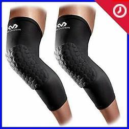 Mcdavid 6446 Hex Knee Pads Compression Leg Sleeve For Basket