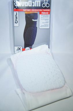 ae617e53e4 McDavid 6446 HEX padded compression leg sleeve WHITE XL