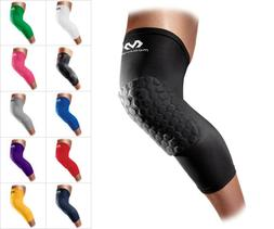 Mcdavid 6446 Pair Extended Leg/Knee Sleeves Hexpad Compressi