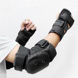 6pcs Unisex Protective Gear Breathable Elbow <font><b>Knee</