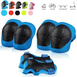 US Skating Protective Gear Set Elbow Knee Pads Bike Skateboa