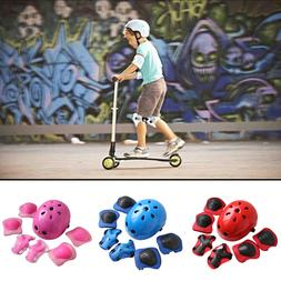 7 Pcs Children Skating <font><b>Protective</b></font> Helmet