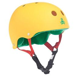 Triple 8  Rubber Helmet with Sweatsaver Liner