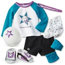 American Girl - Star Player Volleyball Outfit for 18-inch Do