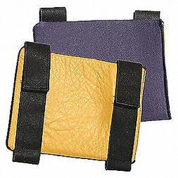 IMPACTO 803-20 Knee Pads,Black/Yellow,Grain Leather