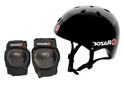 Razor Skater Child Helmet and Pad Set Combo