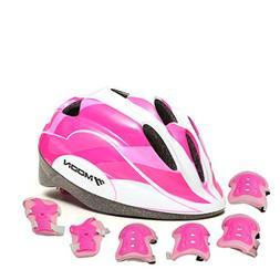 OJESS Kids Adjustable Helmet Cycling Roller Skateboard Elbow