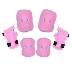 Dostar Kid's Adjustable Sports Safety Protective Gear Set -