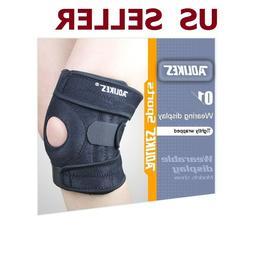 Aolikes Adjustable Sports Knee Protector Pads  Football Bask
