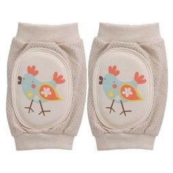 Baby Kids Crawling Knee Pads Anti-slip Toddler Elbow Protect