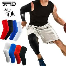 Basketball Knee Pads Compression Leg Sleeve Crashproof Prote