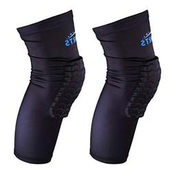VSPORTS Basketball Knee Pads Sleeve Compression Volleyball B