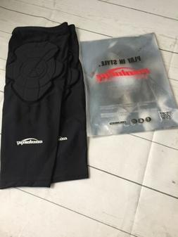 Coolomg Basketball Knee Pads / Sleeves Black - Large - One P