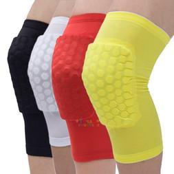 Basketball Knee Support Honeycomb Sponge Pad Gel Sports Socc