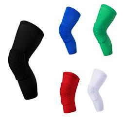 Best Elbow Sleeve Honeycomb Leg Long Brace Support Basketbal