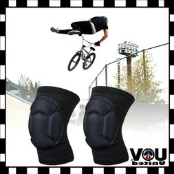 Biking Volleyball X-Game BMX Protector Sponge Knee Pads Adju
