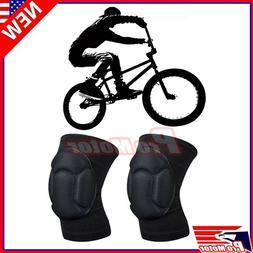 Biking Volleyball X Game BMX Protector Sponge Knee Pads Adju