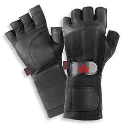 black fingerless leather anti vibe