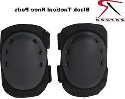 Black Military & Swat Tactical Protective Gear Knee Pads 110
