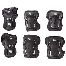 Rollerblade Bladegear XT 3 Pack Protective Gear, Knee Pads,