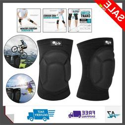 Bodyprox Protective Knee Pads, Thick Sponge Anti-Slip, Colli